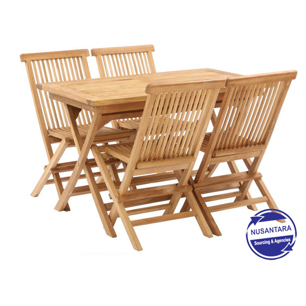 Magnificent Natural Rectangular Folding Table With Folding Chair Customarchery Wood Chair Design Ideas Customarcherynet